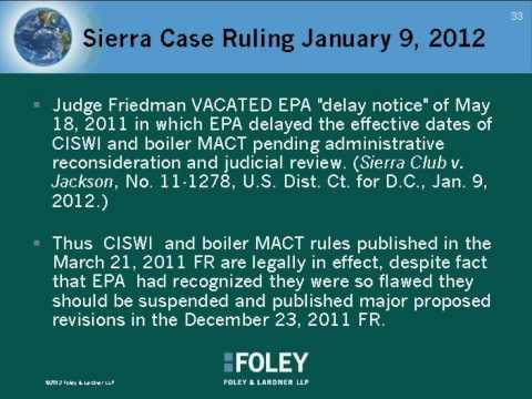 Clean Air Act Updates: EPA