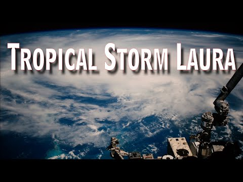 Tropical Storm Laura From Space on August 23, 2019