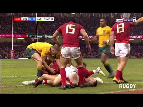 Wales vs Wallabies highlights