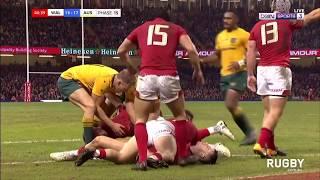 Wales vs Wallabies highlights