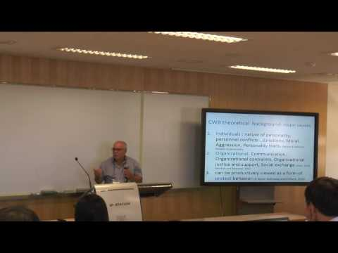 2016 ISQOLS: Economics and Employment; Theme: Work-Life-Balance, Job Satisfaction (Part 2 of 3)