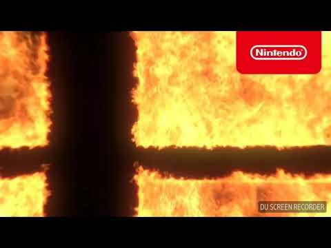 My reaction to the Super Smash Brothers trailer incorporating breath of the wild link