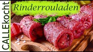 Rinderrouladen selber machen - Omas Rezept für Rouladen