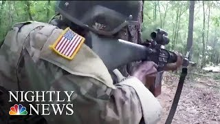Inside The Basic Training That Transforms Civilians Into Soldiers | NBC Nightly News