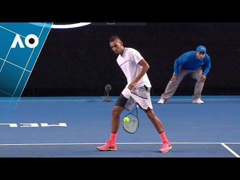 Nick Kyrgios' cheeky tweener proves a winner | Australian Open 2017
