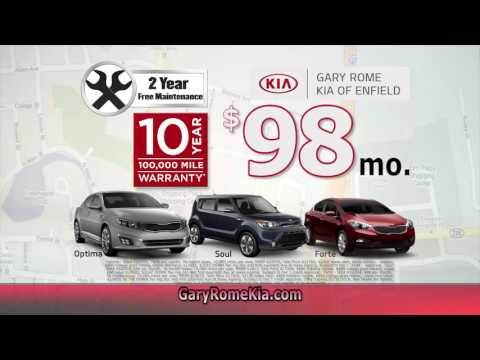 $98 Leases on our all-new Gary Rome Kia Website