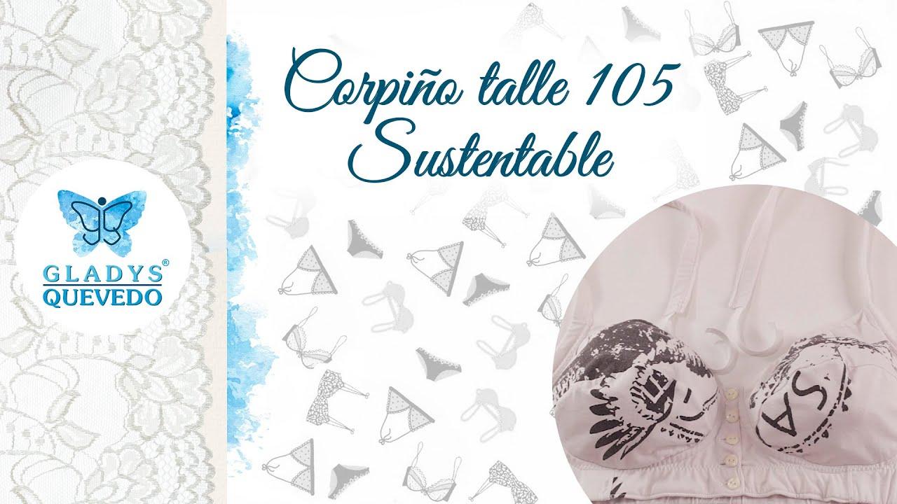 Gladys Quevedo - Corpiño Sustentable talle 105