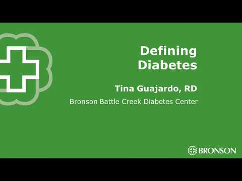 Defining Diabetes Radio Chat   Bronson Healthcare