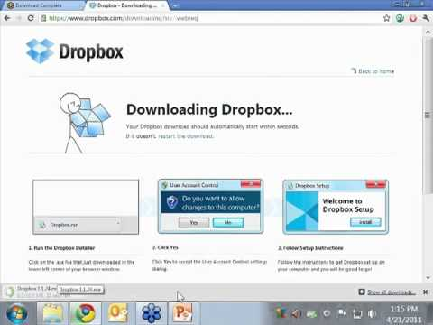 Dropbox for Genealogists by Thomas MacEntee - a Preview - YouTube