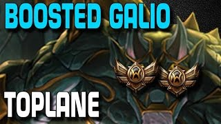 Boosted Galio | League of Legends [edit. Gameplay]