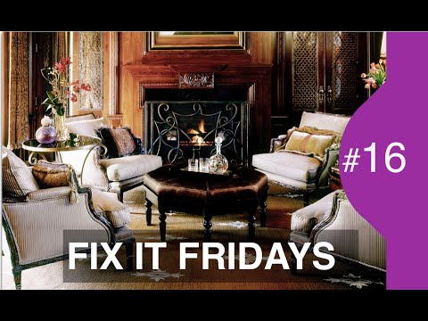 Interior Design | Living Room Decorating Ideas | Fix It Friday 16