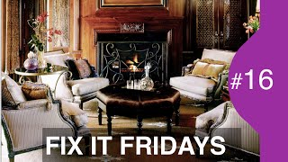 Interior Design | Living Room Decorating Ideas | Fix It Friday 16