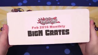yugioh bigncollectibles feb 2016 crate unboxing wing raiders monarch structure deck