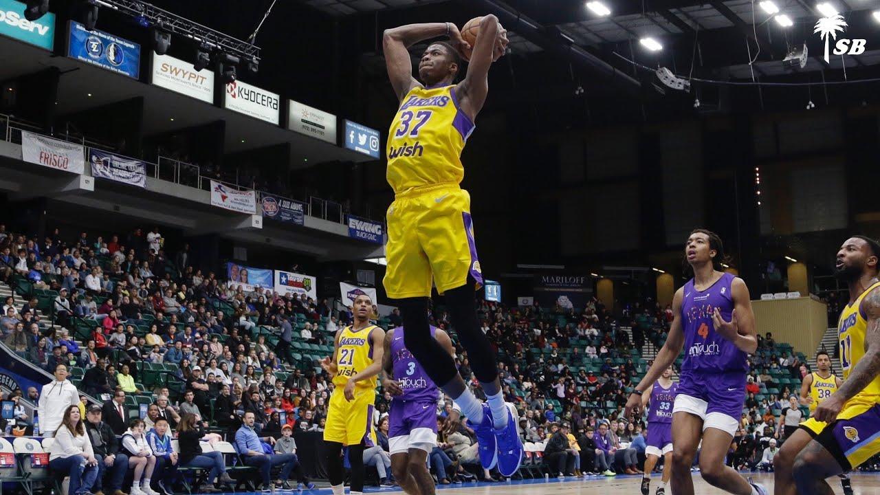 Kostas  Antetokounmpo Highlights | South Bay Lakers vs Texas ...