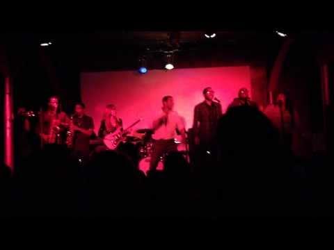 Jon Huertas Singing At His First Live Performance - 08/12/13 (Part 1)