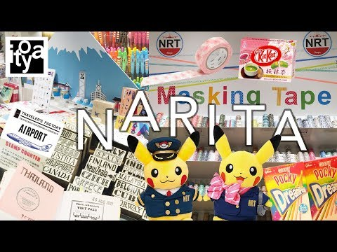 Narita Airport Tour | Traveler's Factory + ITOYA Stationery + Pokemon Store!