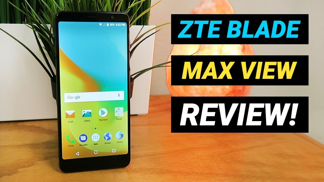 ZTE Blade Max View - Complete Review!