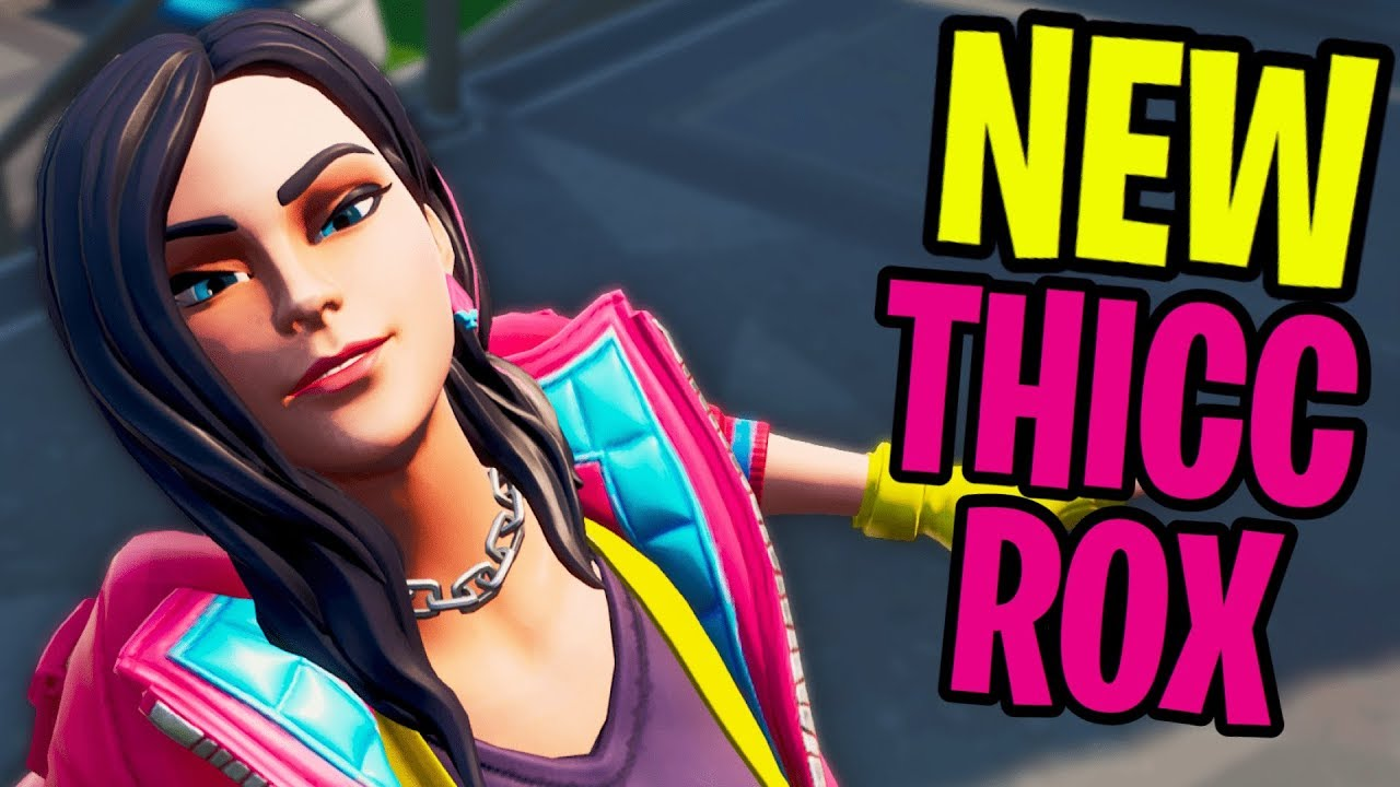 New Thicc Season 9 Rox Skin Youtube