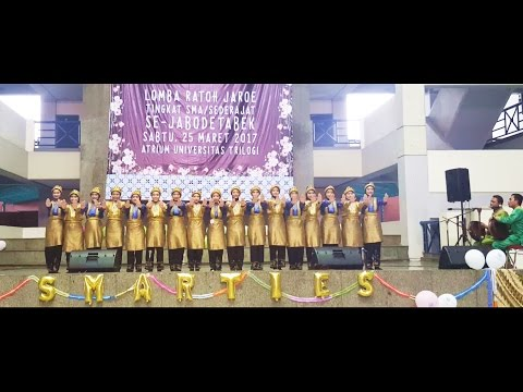 Saman SMAN 49 Jakarta Tradsaforine'18 - Ratoh Jaroe Competition @ Trilogi