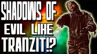 """Black Ops 3 Zombies"" Shadows of Evil is Like Tranzit??"