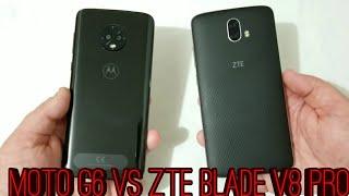 Moto G6 vs ZTE Blade V8 Pro Speed Test Comparison