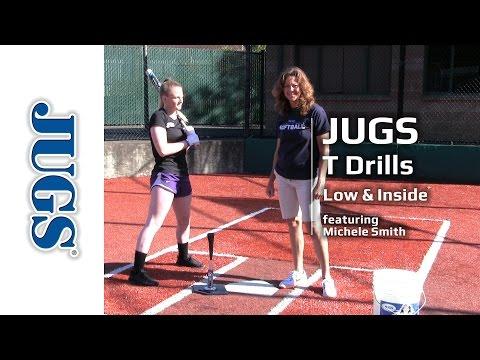 Softball T Drills: Low & Inside    JUGS Sports