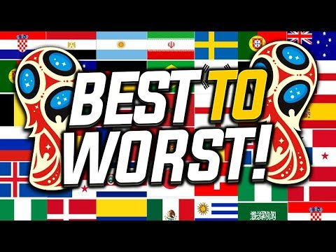 Every 2018 World Cup Kit Ranked Best To Worst Youtube