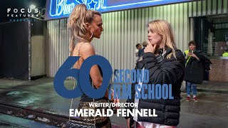 60 Second Film School | Promising Young Woman's Emerald Fennell | Ep 9