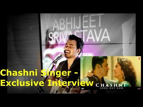 Abhijeet Srivastava : CHASHNI Singer Exclusive Interview | With RJ Ekansha | Bharat
