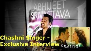 Abhijeet Srivastava : CHASHNI Singer exclusive Interview | With RJ Ekansha | Bharat