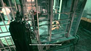 Batman Arkham Knight - villains conversations (Scarecrow