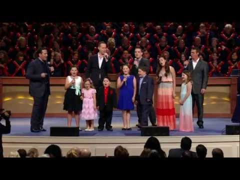 John Hagee's 75th Birthday - Grandkids Sing for Pastor