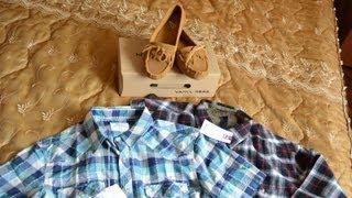 Обзор посылки с Vancl. Балетки и мужские рубашки отличного качества!