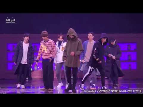 [MIRRORED] BTS (방탄소년단) Best Of Me (Rehearsal Stage CAM @4th MUSTER #2018BTSFESTA)