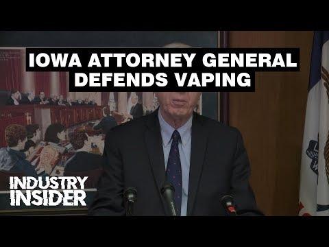 Industry Insider: Iowa Attorney General Defends Vaping