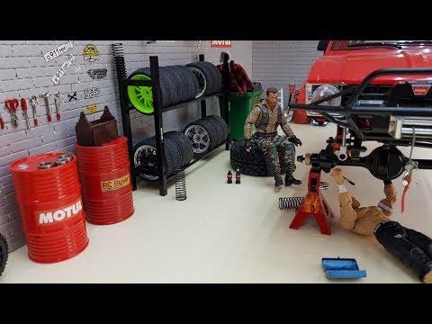 Строю гараж 1/10 за 500 руб. (rc Garage)
