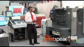 Quick Demo, Gronhi GH-524 sheetfed offset press