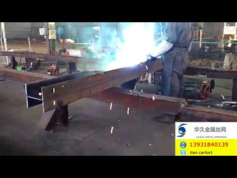 Steel Fabrication: How To Weld Steel Plate Into Specific Steel Beam Post