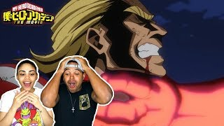MY HERO ACADEMIA THE MOVIE - 2 HEROES ANNOUNCEMENT TRAILER REACTION!!!