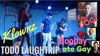 Klownz Comedy Bar with Ate Gay and Boobay! TODO LAUGHTRIP! MUST WATCH