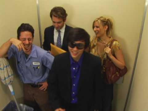 Hook up in elevator
