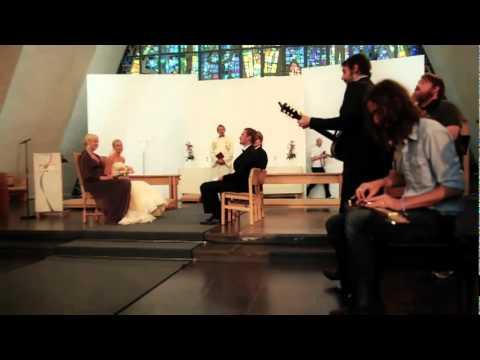 band of horses perform song at tromso wedding