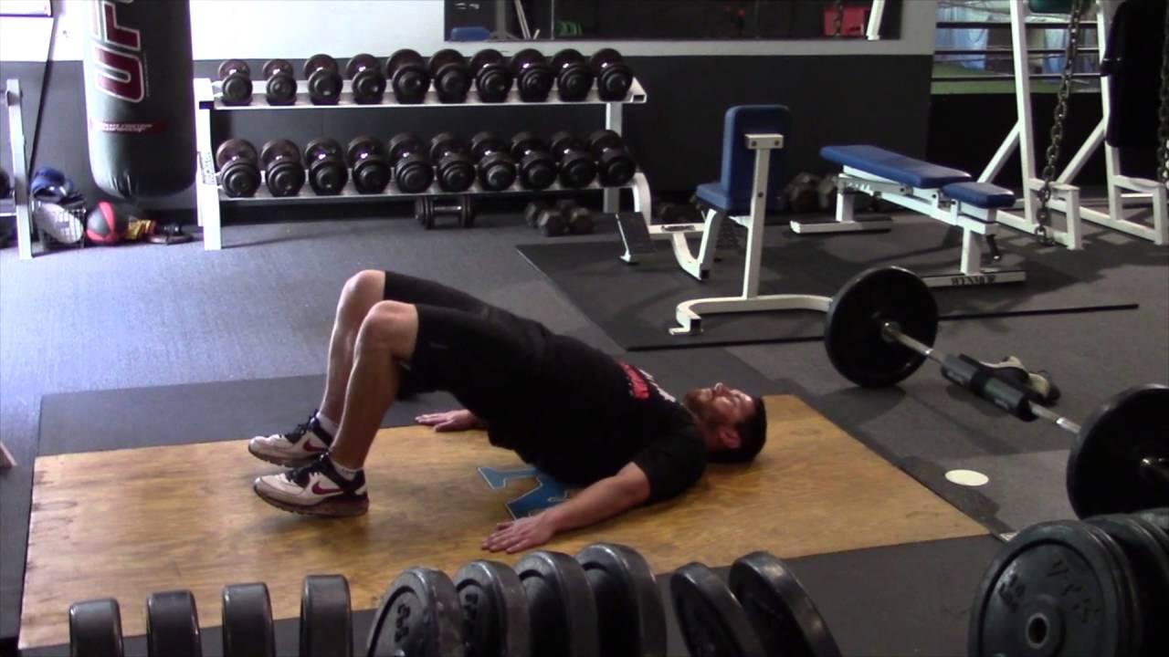 Bodyweight Hip Thrust - YouTube