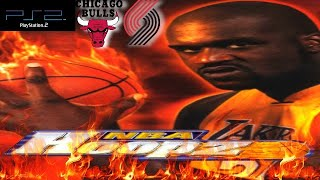 NBA Hoopz PS2 Gameplay - Portland Trail Blazers @ Chicago Bulls (Pro Difficulty)