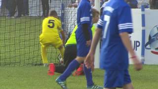 Romania vs Ukraine - Ranking match 17/32 - Highlight - Danone Nations Cup 2016