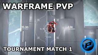 Warframe pvp tournament match #1: Phasedragon vs Krysyth