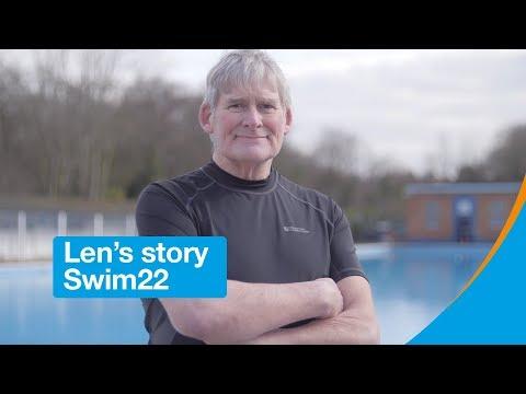 Len's story | Swim22 | Diabetes UK
