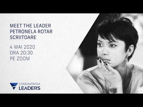 Despre încrederea în sine și nevoia de validare cu scriitoarea Petronela Rotar -  la Meet the Leader
