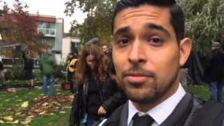 Wilmer Valderrama on Periscope: Warming for filming.. #MinorityReport