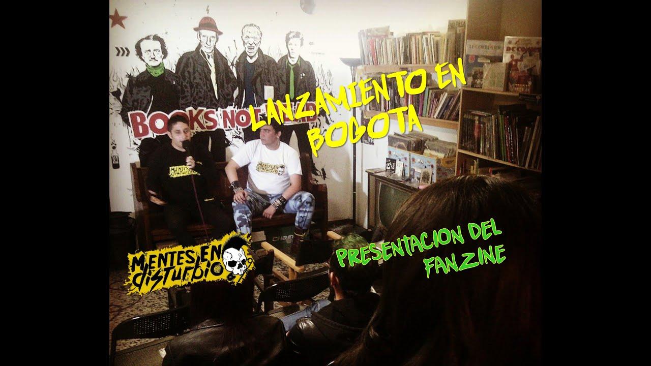 Especial: Presentación de Mentes en Disturbio en Bogotá
